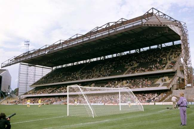 Soccer - Football League Division One - Chelsea v Carlisle United - Stamford Bridge General view of the East Stand at Stamford Bridge Ref #: PA.2469611  Date: 17/08/1974