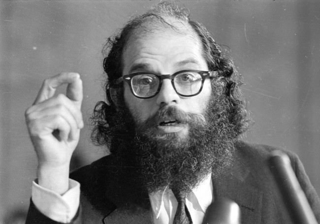 "Poet Allen Ginsberg, creative writer of the ""Beat"" generation, praises the effects of LSD and discounts its alleged dangers during testimony before a Senate Subcommittee on Juvenile Delinquency in Washington D.C. on June 14, 1966."