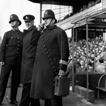 1950: Arsenal and Leeds United Fans Kept In Check By New Technology