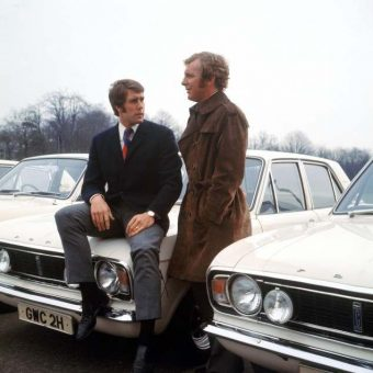 1970 In Photos: England World Cup Footballers Get Free Ford Cortinas In Brentwood, Essex