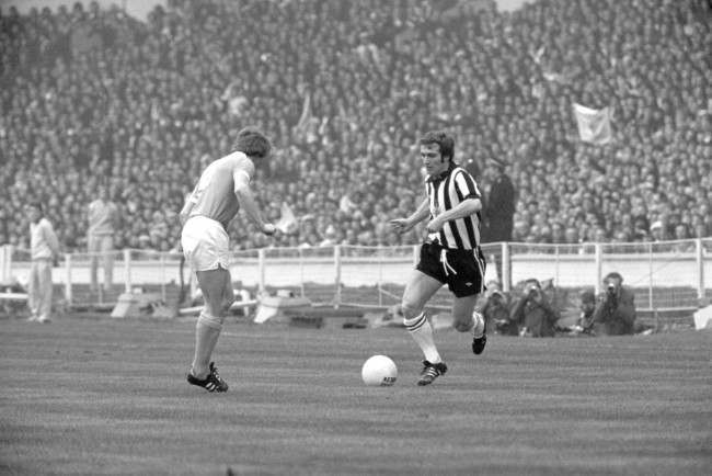 Micky Burns, Newcastle United (r)