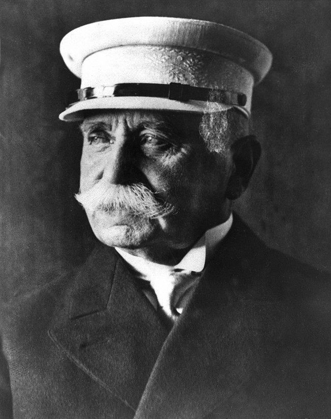 This is a 1929 photo of Ferdinand Graf von Zeppelin, a German military officer who developed the rigid airship, or dirigible, that bears his name.