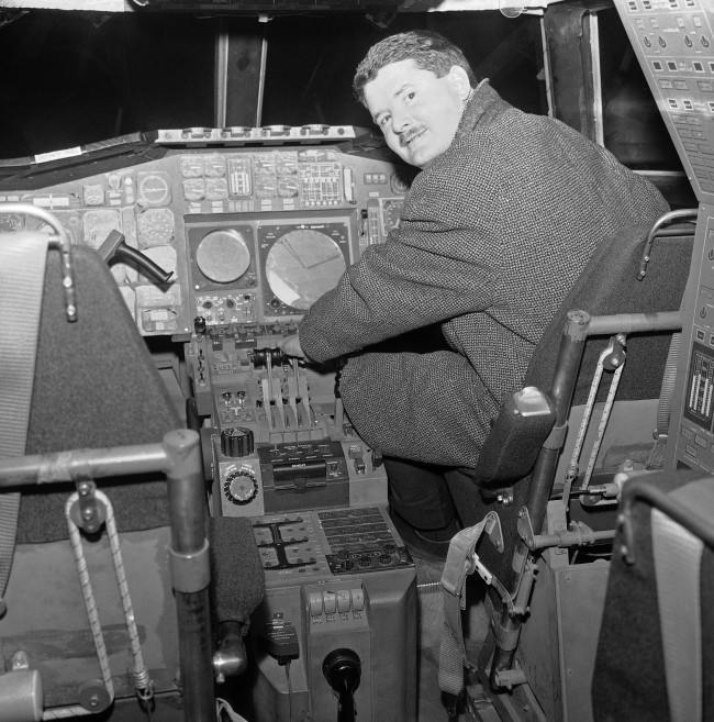 Flying a jet which will cruise at more than twice the speed of sound will be a new experience for pilots of the super-sonic transports due for their trial flights in 1968. Here a British pilot looks over the instrument panel in a mockup of the flight deck of the British-French Concorde at the British Aircraft Corporation plant at Bristol, England, Jan. 18, 1967, where a prototype is being built. With a cruise speed of 1,450 mph, the Concorde could make two round trips a day between London and New York.