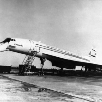 Concorde: The Photo Story Of The World's First Super-Sonic Passenger Plane's Maiden Flight