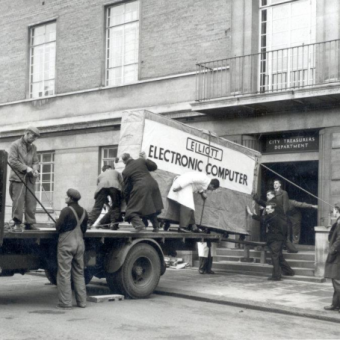 Norwich City Council Takes Delivery Of A Massive Computer In 1957