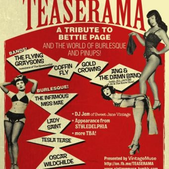 Watch 1955 Burlesque Film Teaserama, Featuring Bettie Page The Girls 'Who Strip To Please'