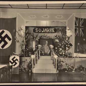 Adelaide's German Club Celebrates Hitler's 50th Birthday In 1939