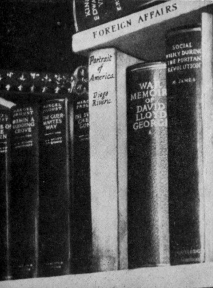 Burgess's books he eventually left behind he took with him a volume of Jane Austen's collected novels.