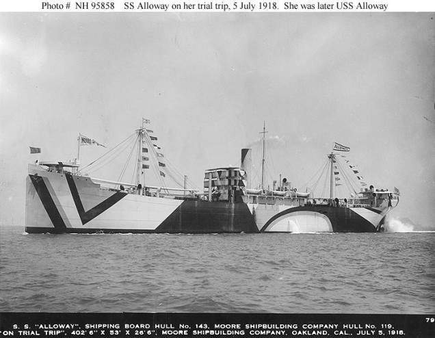 USS Alloway (a cargo ship of U.S. Navy, 1918-1919)