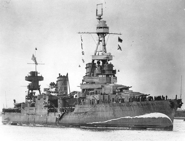 USS Northampton (a heavy cruiser of the U.S. Navy, commissioned in 1930, sunk in November 1942)
