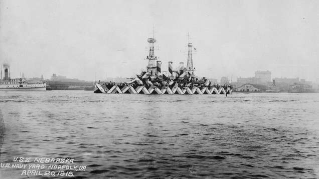USS Nebraska (Virginia-class pre-dreadnought battleship of the U.S. Navy, launched in 1904, scrapped in 1920)