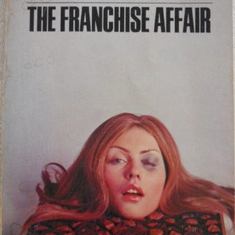 Debbie Harry's Decapitated Head Rests In A Box Of Chocolates On The Cover Of Josephine Tey's The Franchise Affair