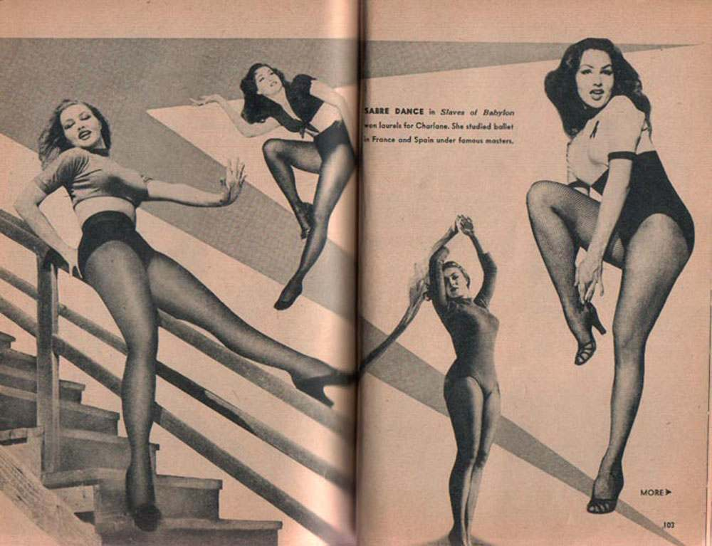 julie newmar dance