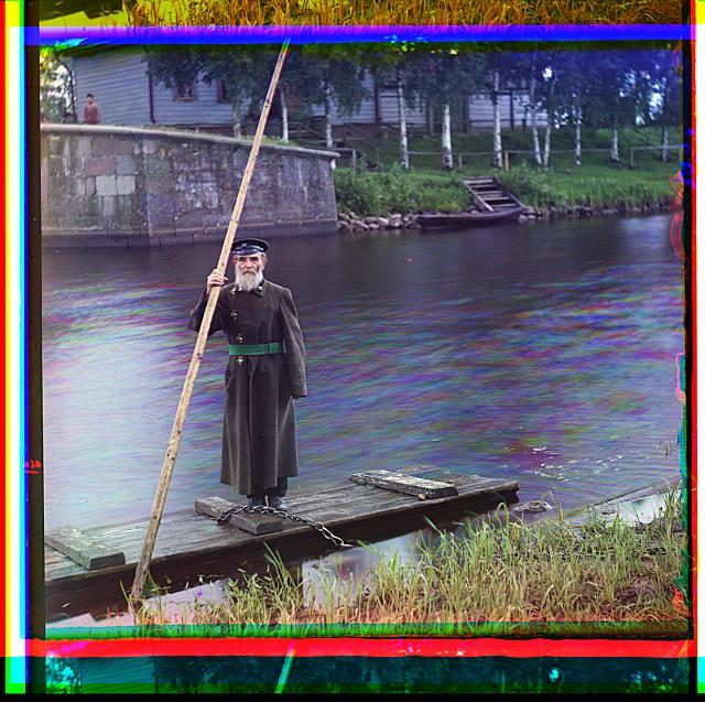 Pinkhus Karlinskii. Eighty-four years [old]. Sixty-six years of service. Supervisor of Chernigov floodgate.