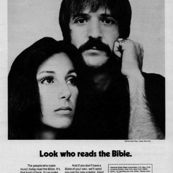 In 1978 Sonny And Cher Were Advertising The Bible