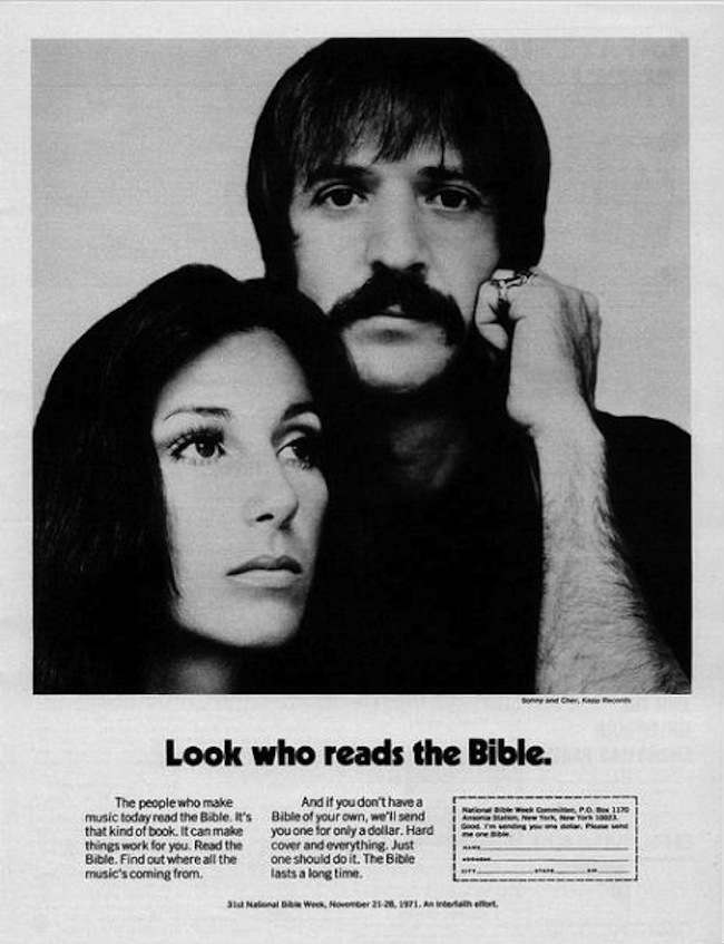 sonny and cher bible