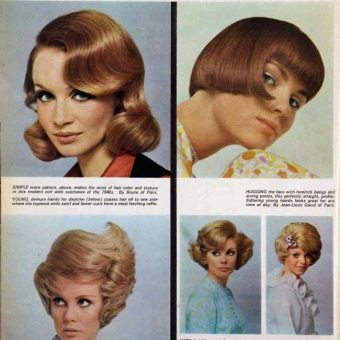 Australian Woman's Hair (Harry) Styles From 1968