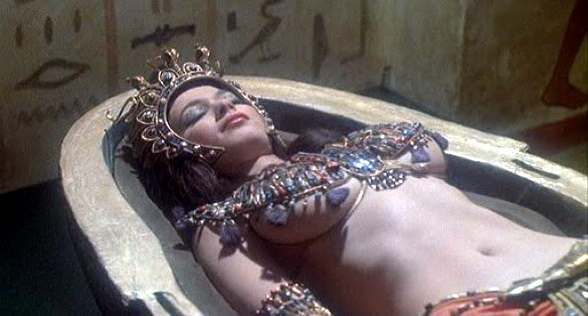 Valerie Leon BLOOD FROM THE MUMMY'S TOMB (1971)