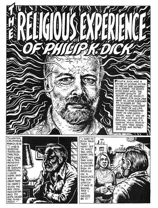 weirdo philip dick crumb