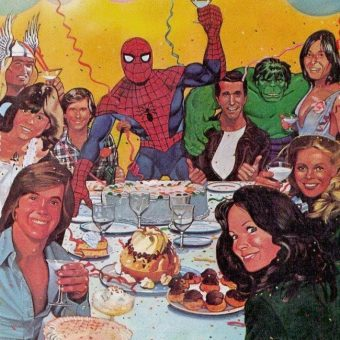 1978: Spiderman's Celebrity Party (Can You Name All The Guests?)