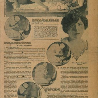 1914: 'How It Feels To Be Forcibly Fed' Like A Suffragette By Djuna Barnes