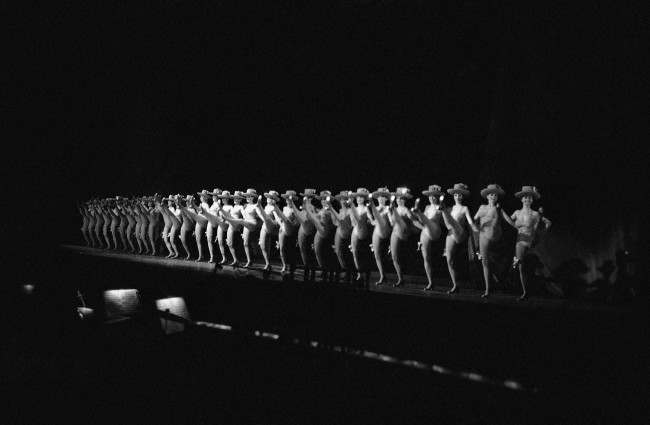 The Rockettes perform on the stage of Radio City Music Hall in New York on Jan. 5, 1978.
