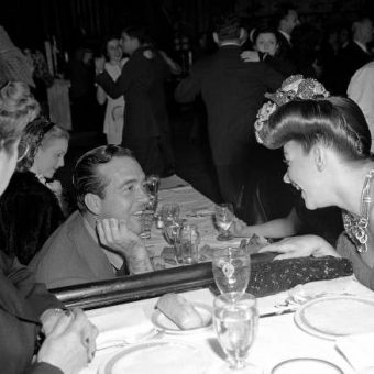 1944: Carmen Miranda And 'John Wayne' Flirt By A Lonesome Deanna Durbin