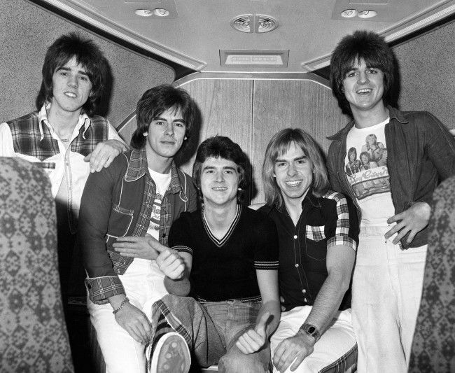 The Bay City Rollers in 1975.