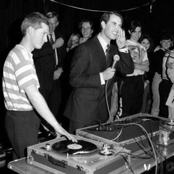 1989: Prince Edward DJs At A Disco In Basildon, Essex