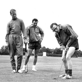 England Prepare For The 1966 World Cup Final With Golf, Cricket And Laughter