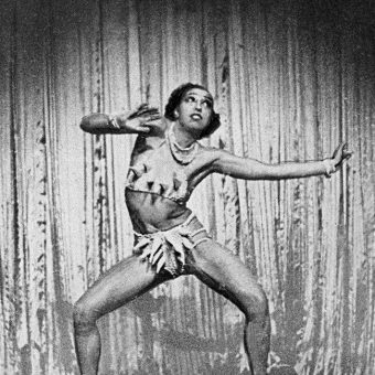 1936: Josephine Baker Performs The Danse Sauvage In A Rubber Banana Bikini for The Ziegfeld Follies