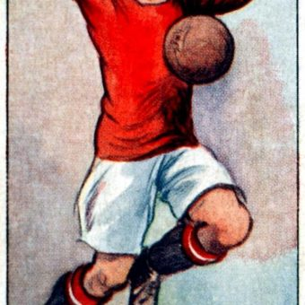 Manchester United And Frank Munn 1928: The Player's Cigarette Card V The Player