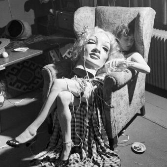 1950: Cold War Artist Asleep With Marlene Dietrich's Head In Her Lap