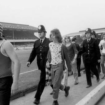 1973: Arsenal Hooligans Ejected From The FA Cup Third-Fourth Place Match With Wolverhampton Wanderers