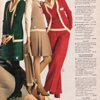Pages of Polyester: The Sears 1974 Catalog