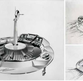 The Evinrude Fishing Saucer Concept Boat Of 1957