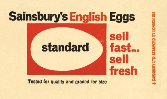 Egg packaging, 1964