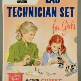 Vintage Sexism: The A.C. Gilbert 'Lab Technician Set For Girls' (1958)