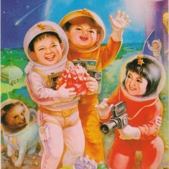 1962-1985 Taikonaut Tykes: Chinese Space Babies Posters