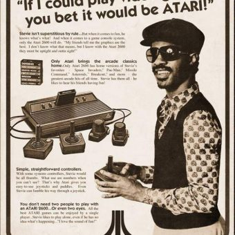 Epic Adverts: Stevie Wonder Plays Atari Video Games