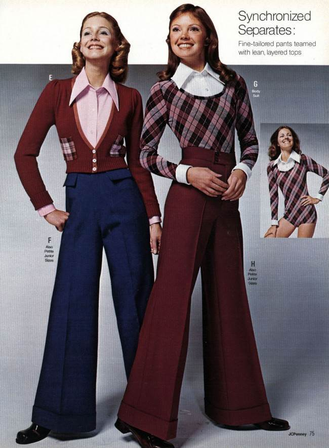 Slacks Relapse: A Look At Chick Pants Of The 1970s |