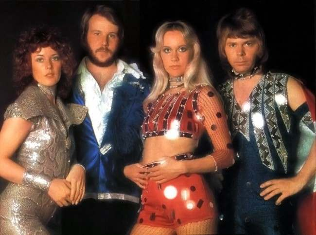 ABBA Ring Ring costumes