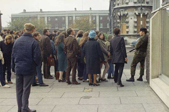 Belfast the Troubles 1971