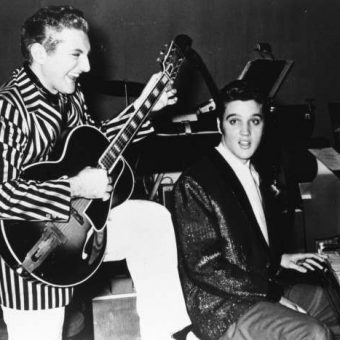 Liberace And Elvis Jam On Guitar And Piano In 1956