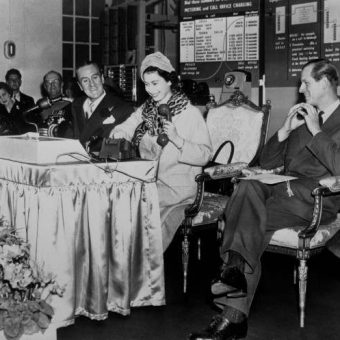 The Queen Makes The First Subscriber Trunk Dialled Telephone Call In 1958
