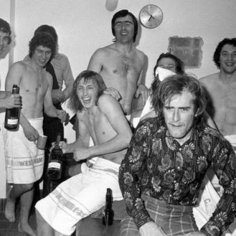 West Ham United Inside the Chelsea Dressing Room After The 1975 FA Cup Semi-Final