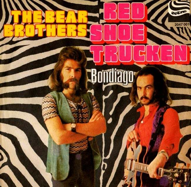 "The Bear Brothers – ""Red Shoe Trucken"" (1972)"