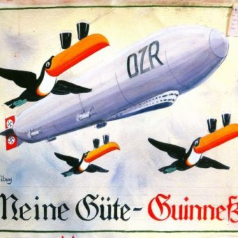 Guinness Was Once The Nazi Beer Of Choice: Black Beer For Black Shirts (The Posters)