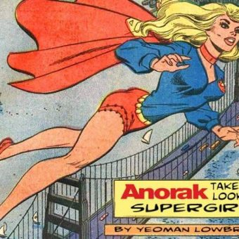 It's A Bird! It's A Dame! It's Your Illustrated Guide To Supergirl!