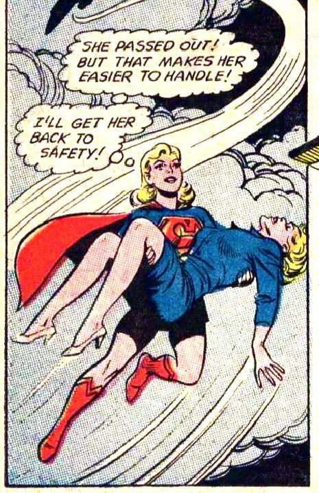 Its A Bird Its A Dame Its Your Illustrated Guide To Supergirl - Flashbak-7124